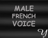 Voix french homme