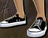 70's Black Sneakers M