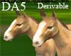 (A) Newborn Horses Play