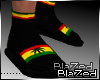 Bl Rasta Slides/socks