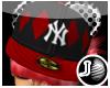 [LF] P-NY Cap - Red F