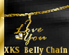 (LL)XKS LuvUBelly Chain
