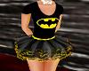 Batgirl Tutu Dress