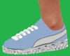 Blue Sneaker Kicks