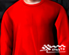 Red Crewneck Jumper