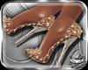! GoldSilver Heels