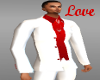 Red&White Wedding Suit
