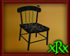 Wood Spider Chair Green