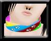 -F- Rainbow Collar PawsM
