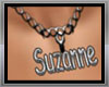 Necklace Suzanne name