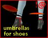 !@ Umbrellas for shoes