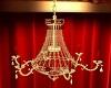 golden candle chandelier