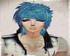 Cute Emo Blue Hair