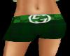 Green Plaid Boy Shorts