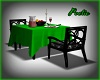 Dining Table - (2) Green
