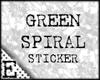[E] Green Spiral