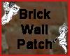 Brick Wall Patch