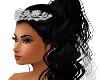 Silver Tiara and veil