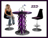 Purple chat Table