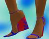 DIVA-Spring-RedBlue Heel