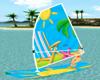 (ED) Surf board Animated