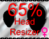 *M* Head Resizer 65%