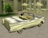 White 57 Chevy