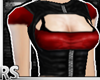 ; Leather-jacket Red