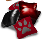 PawPrints Pillow