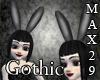 Gothic Bunny Ears