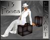 13 poses black cube