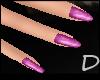{D} D&G Purple Nails