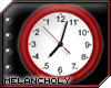 Backwards Clock: Red