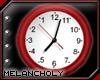 Backwards Clock: Red
