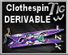 TWx:Clothespin DERIVABLE