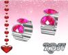 Valentine Pink Bracelets