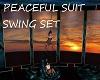 PEACEFUL SUIT SWING SET