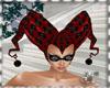 SC HAT  ARLEQUIN RED 2