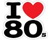 ! I LOVE 80's !