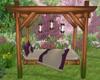 She Shed Garden Swing