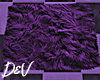 !D Purple Fur Rug