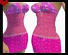 F> Mini Pink Dress