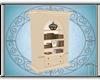 The Beach Bookcase/Radio