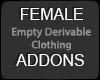 FEMALE EMP DERV ACCESORY