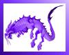 Lavander Asian Dragon