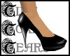 TTT Patent Heels ~ Black
