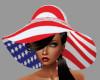 [BRI]USA Flag Floppy Hat