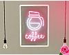e coffee neon