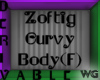 Zoftig Curvy Body Female