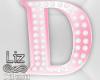 Baby Shower letter D